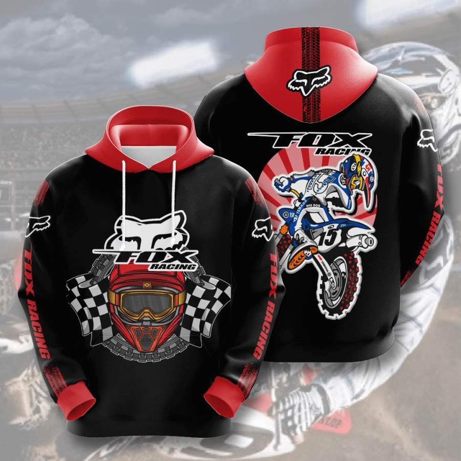 Fox Racing No670 Custom Hoodie 3D