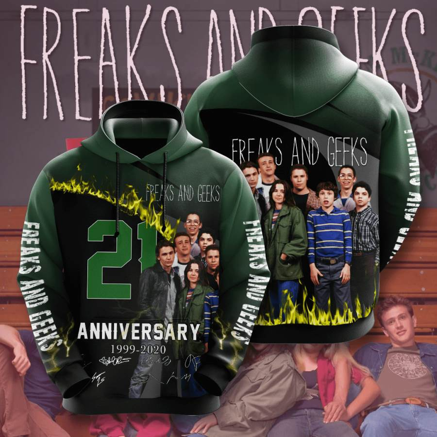 Freaks And Geeks No679 Custom Hoodie 3D