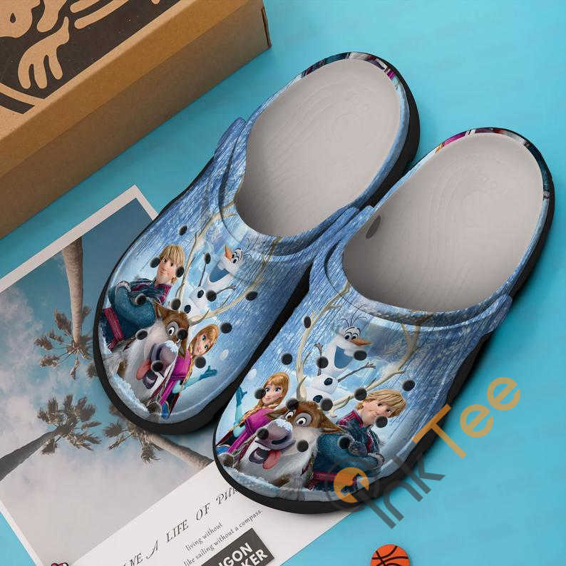 Frozen Cartoon Movie Crocs Clog Shoes