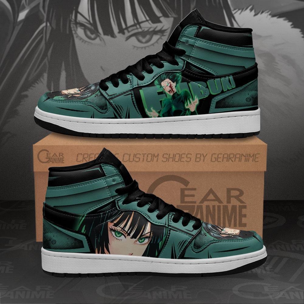 Fubuki Sneakers One Punch Man Custom Anime Air Jordan Shoes