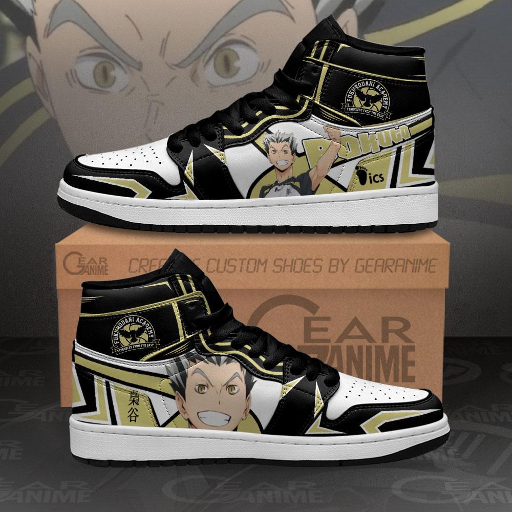 Fukurodani Bokuto Koutaro Sneakers Haikyuu Anime Air Jordan Shoes