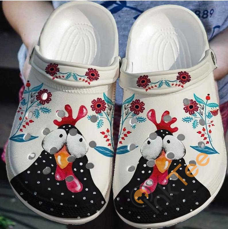Funny Chicken Crocs Clog Shoes