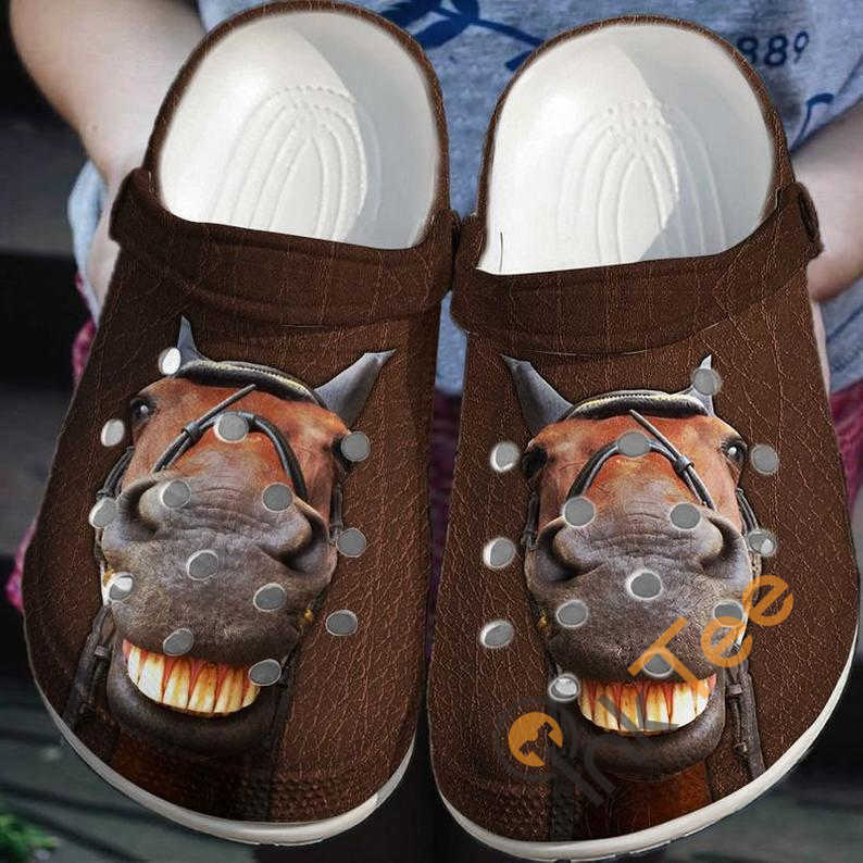 Funny Horse Crocs Clog Shoes