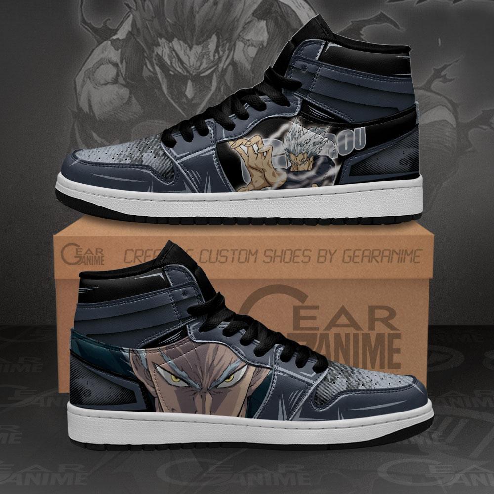 Garou Sneakers One Punch Man Custom Anime Air Jordan Shoes