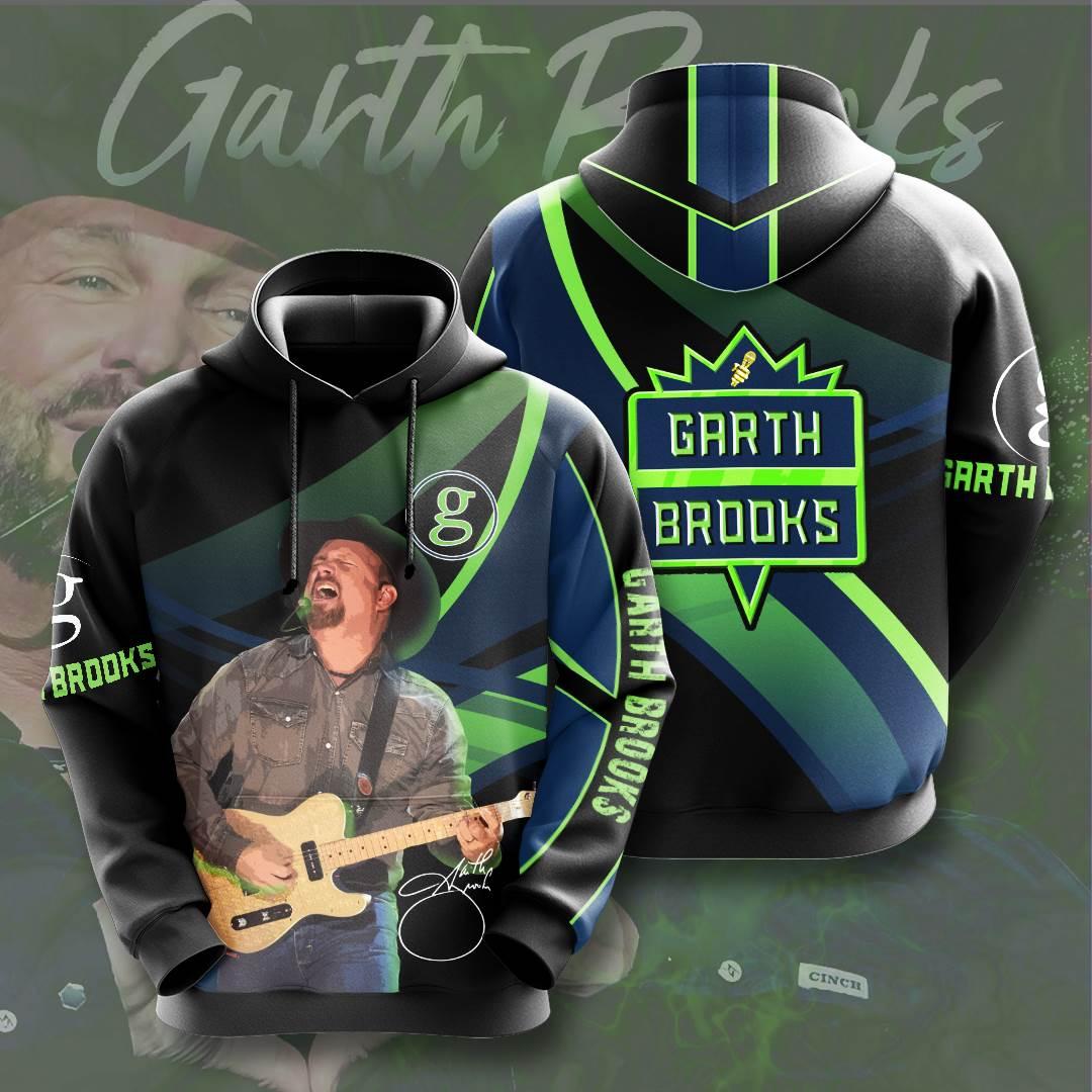 Garth Brooks No693 Custom Hoodie 3D
