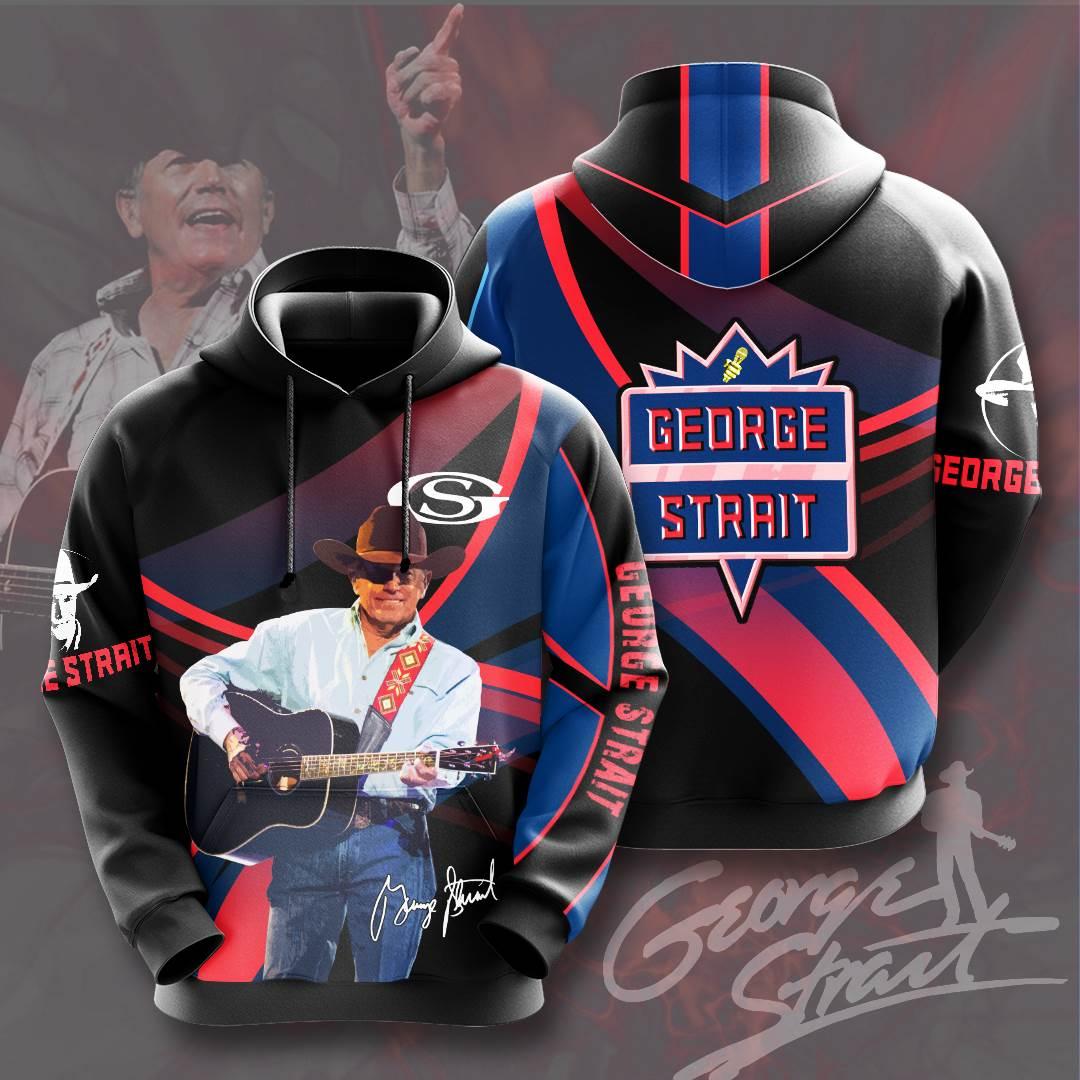 George Strait No698 Custom Hoodie 3D