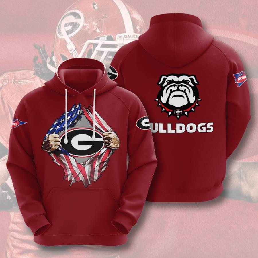 Georgia Bulldogs No699 Custom Hoodie 3D