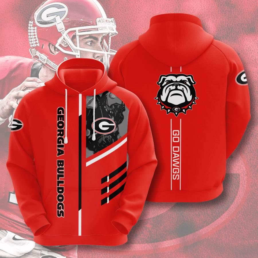 Georgia Bulldogs No701 Custom Hoodie 3D