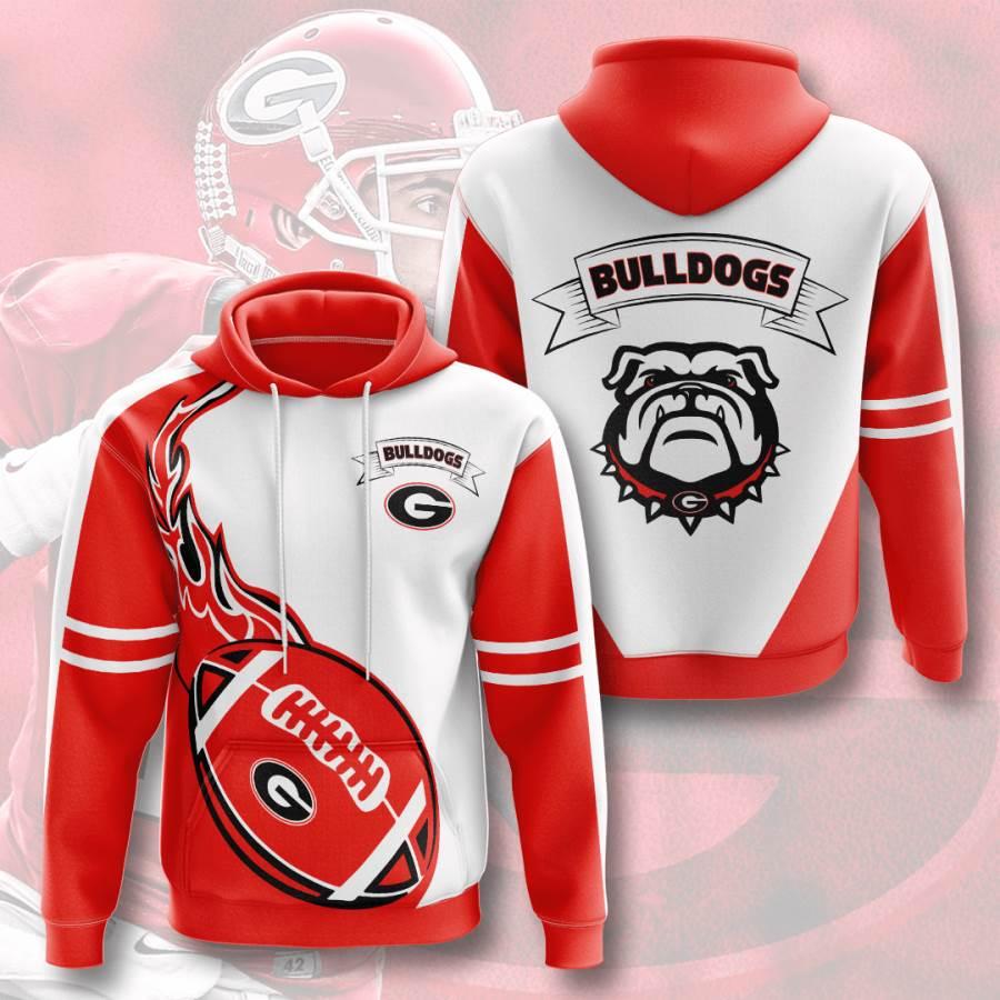 Georgia Bulldogs No703 Custom Hoodie 3D