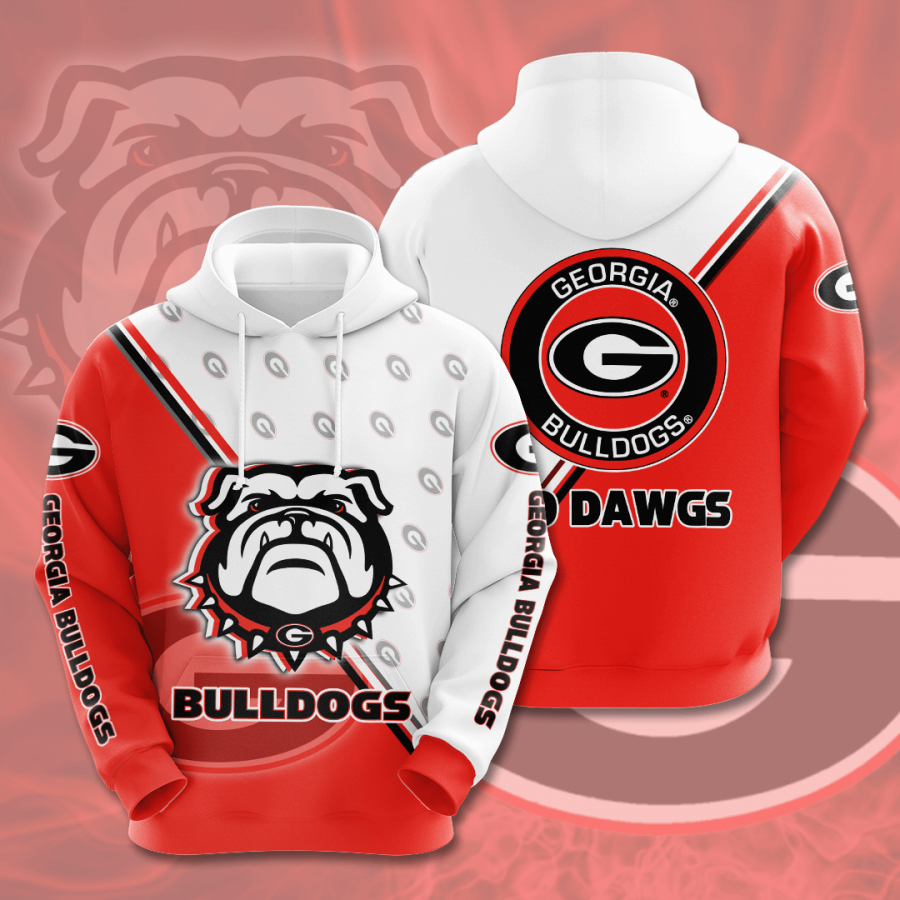 Georgia Bulldogs No704 Custom Hoodie 3D