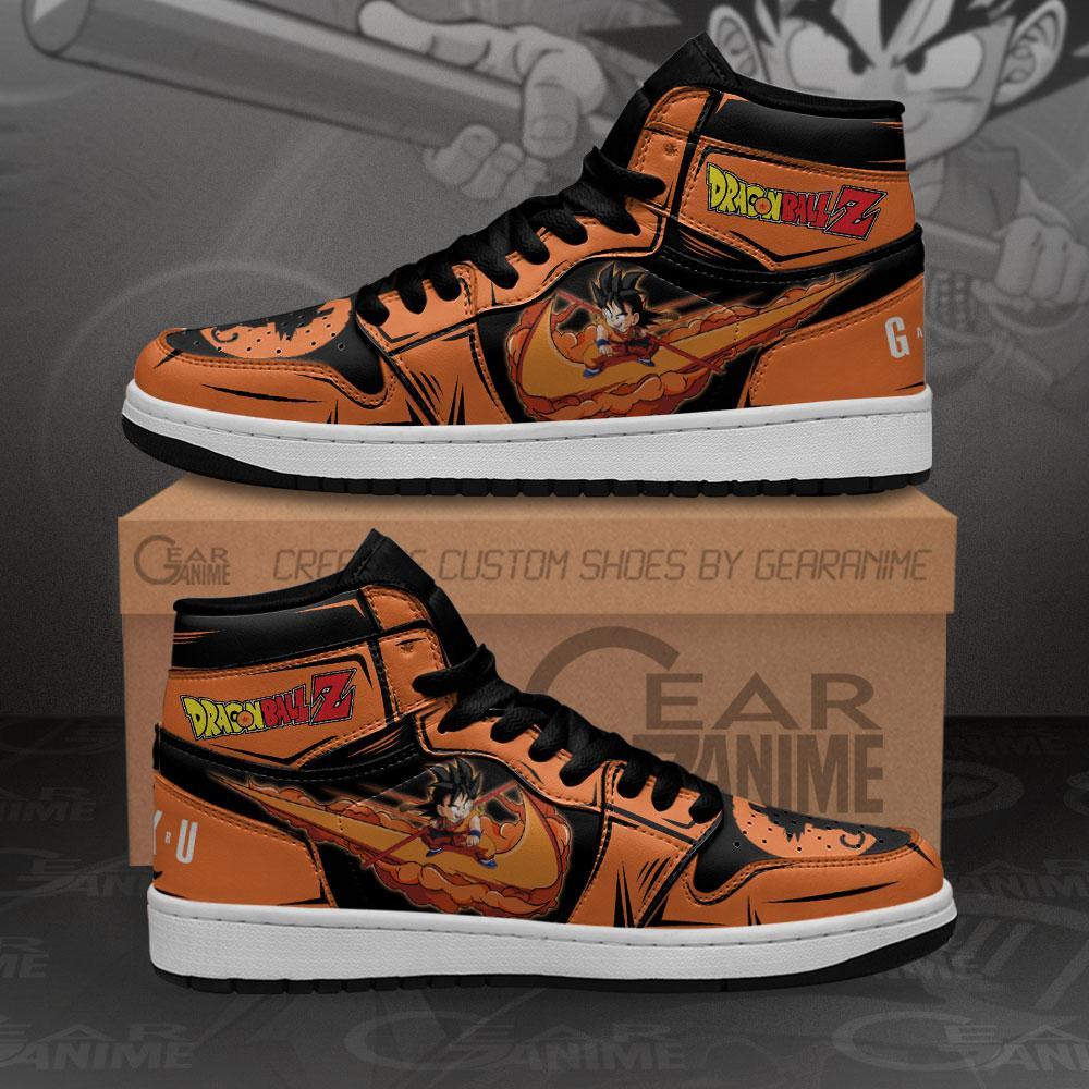 Goku Chico Sneakers Dragon Ball Z Custom Anime Air Jordan Shoes