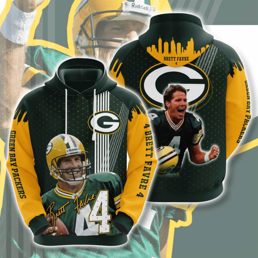 Green Bay Packers No717 Custom Hoodie 3D