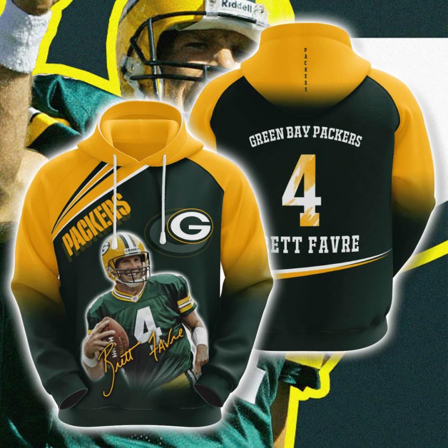 Green Bay Packers No718 Custom Hoodie 3D