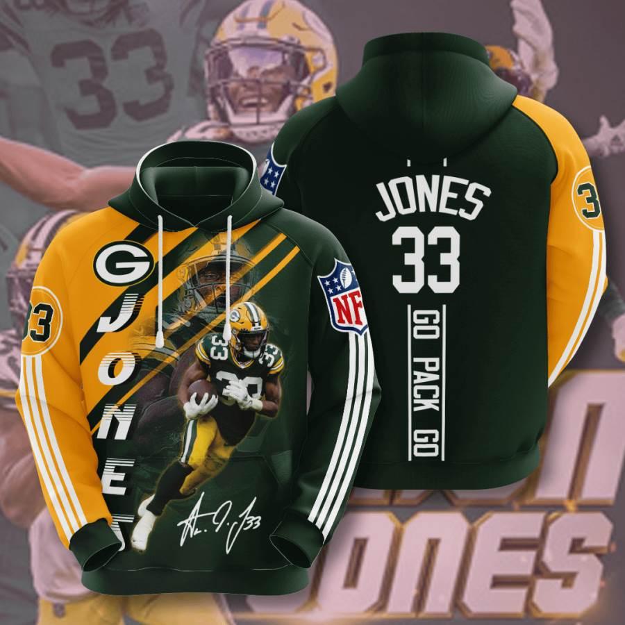 Green Bay Packers No719 Custom Hoodie 3D