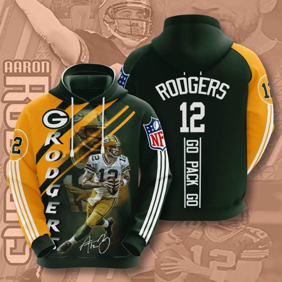 Green Bay Packers No720 Custom Hoodie 3D