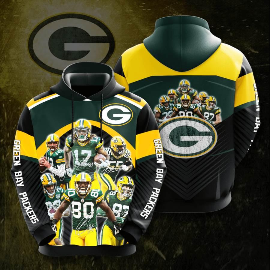 Green Bay Packers No726 Custom Hoodie 3D