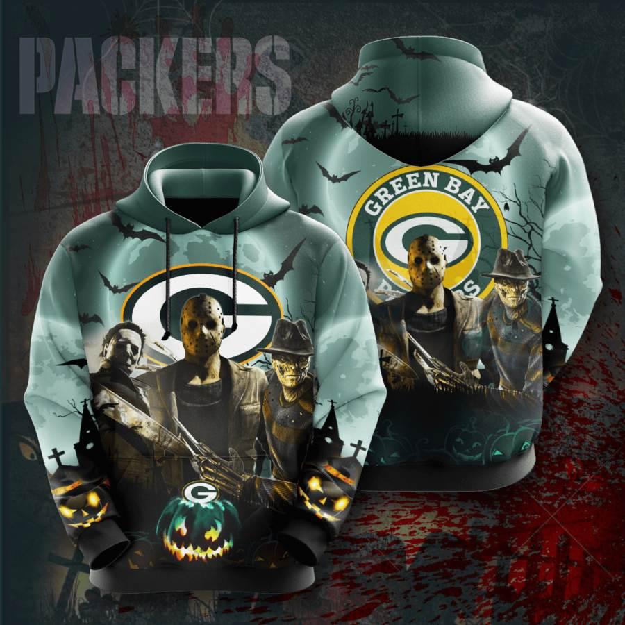 Green Bay Packers No728 Custom Hoodie 3D