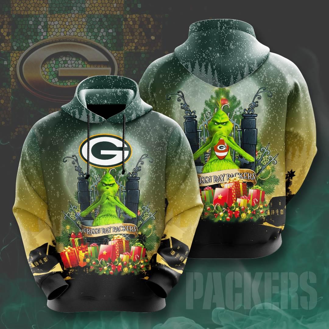 Green Bay Packers No730 Custom Hoodie 3D