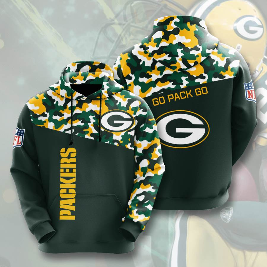 Green Bay Packers No731 Custom Hoodie 3D