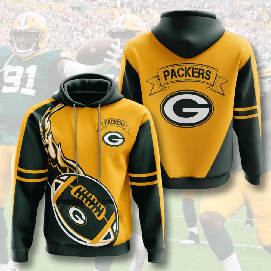 Green Bay Packers No732 Custom Hoodie 3D