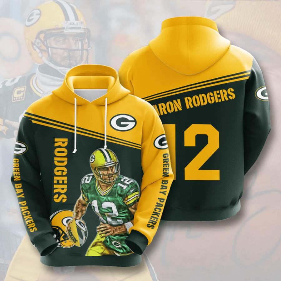 Green Bay Packers No733 Custom Hoodie 3D