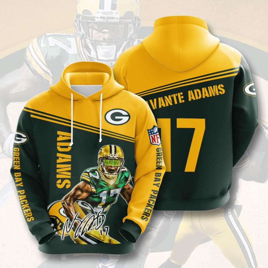 Green Bay Packers No735 Custom Hoodie 3D