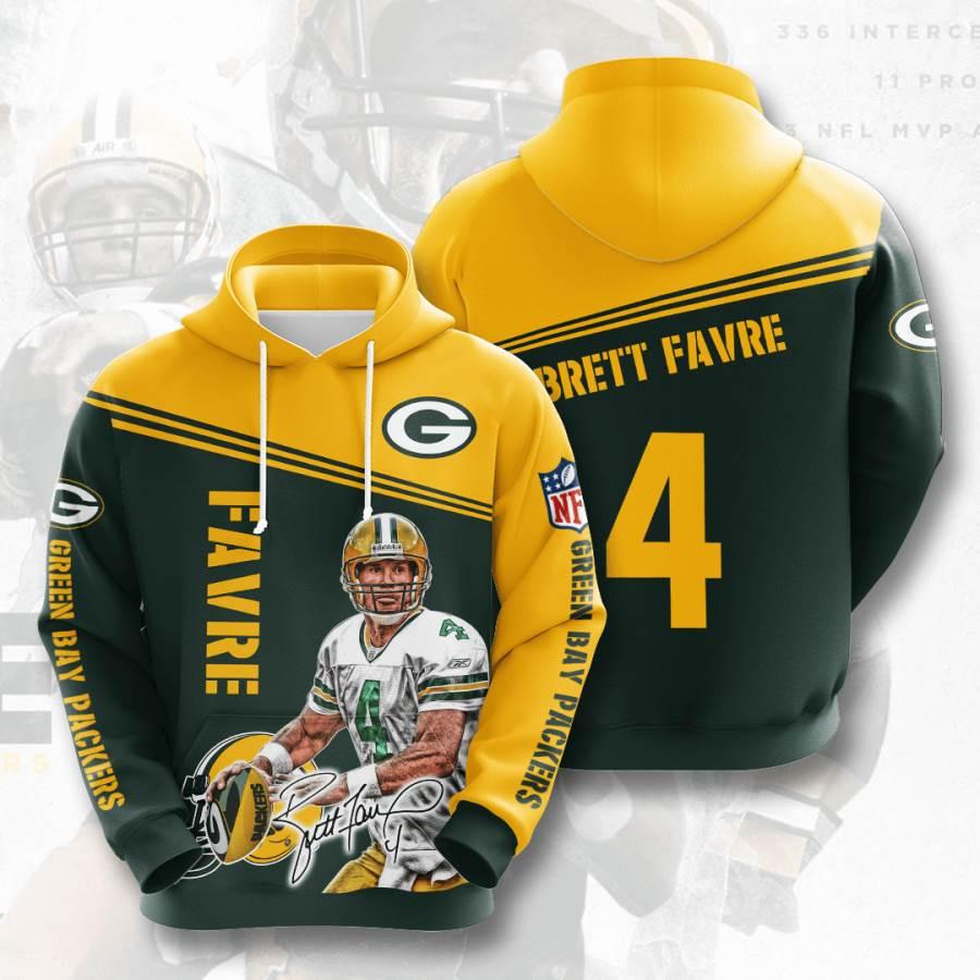 Green Bay Packers No736 Custom Hoodie 3D