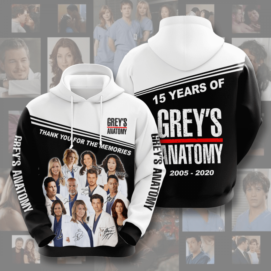 Grey?s Anatomy No743 Custom Hoodie 3D