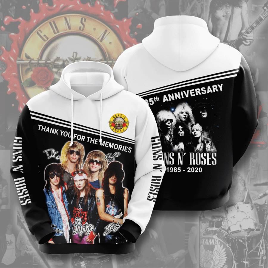 Guns N? Roses No744 Custom Hoodie 3D