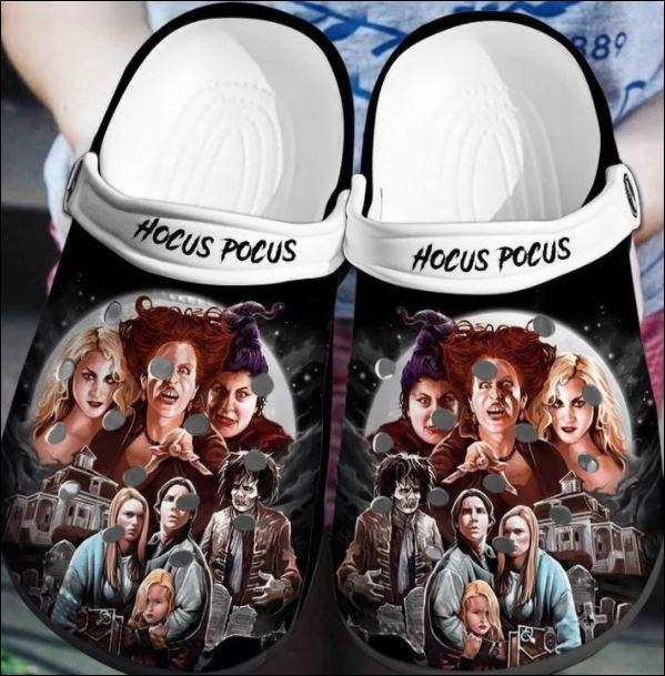 Halloween Hocus Pocus Crocs Clog Shoes