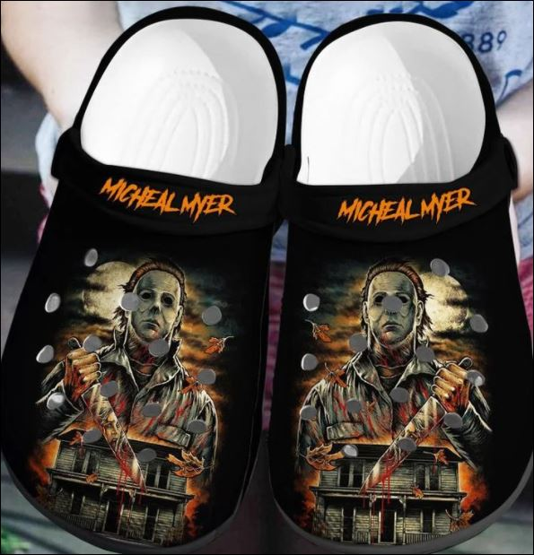 Halloween Michael Myers Crocs Clog Shoes