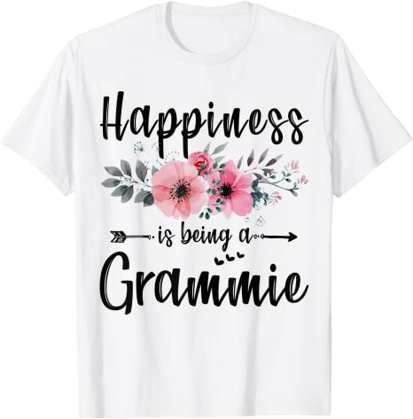 Happiness Is Being A Grammie Shirt Mother's Day Gift Men's T Shirt