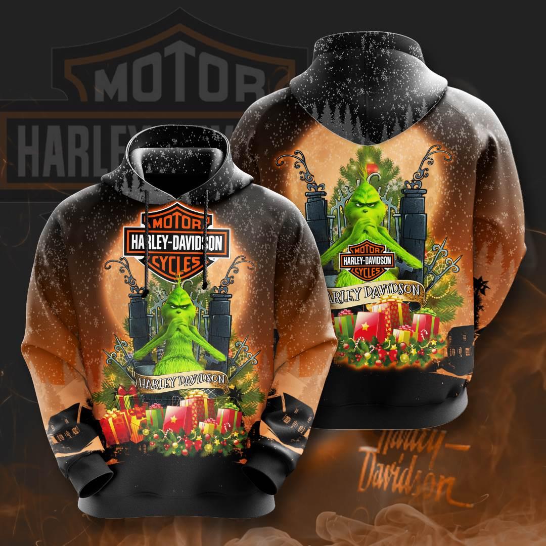 Harley Davidson No748 Custom Hoodie 3D