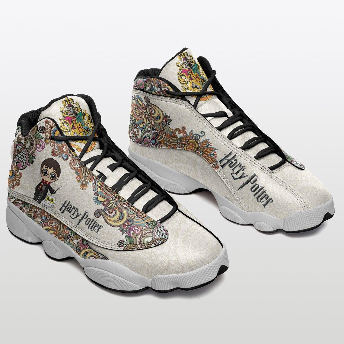 Harry Potter Gift For Fan Custom Sku 31 Air Jordan Shoes