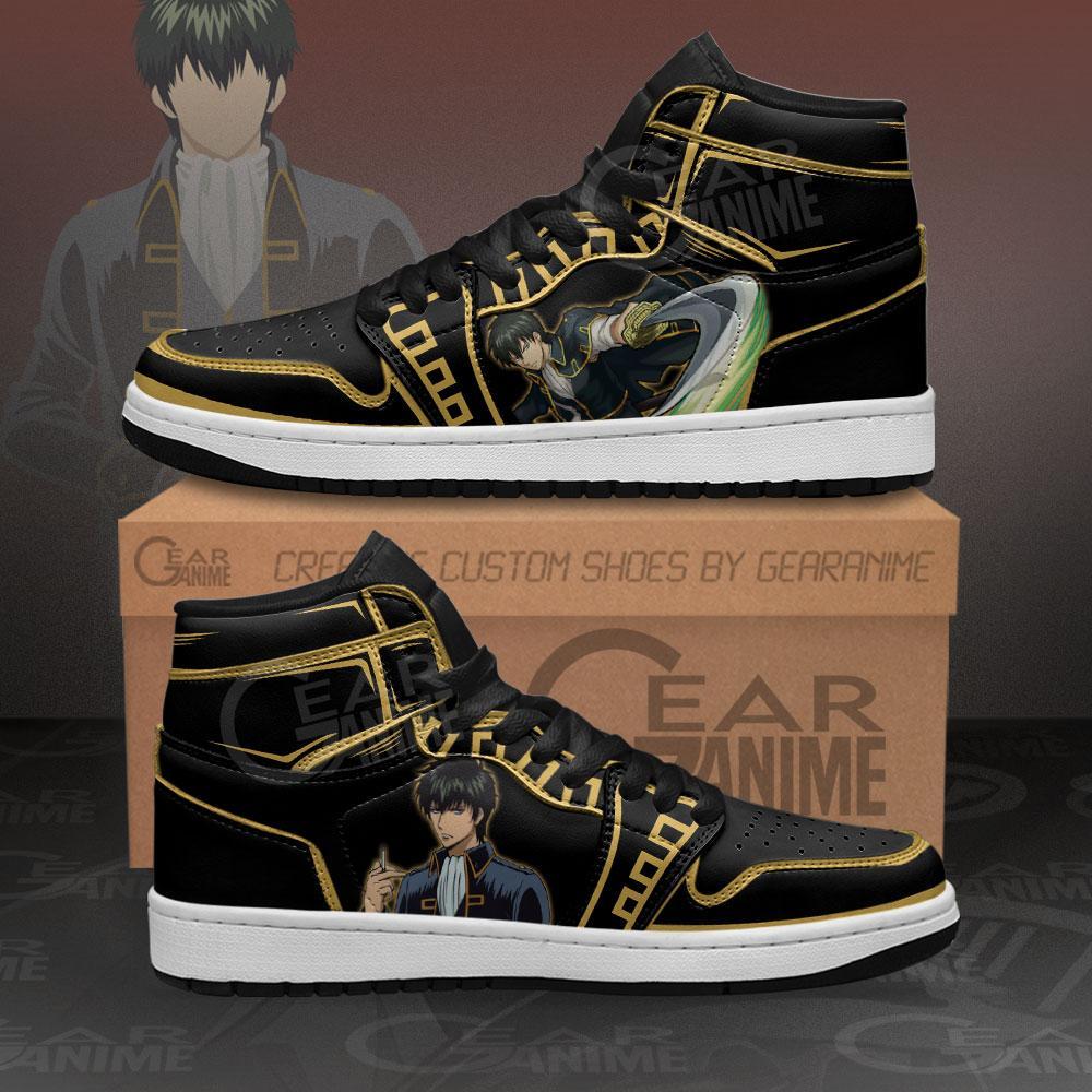 Hijikata Toshiro Sneakers Gintama Custom Anime Air Jordan Shoes