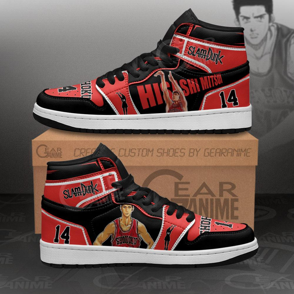 Hisashi Mitsui Sneakers Slam Dunk Anime Air Jordan Shoes