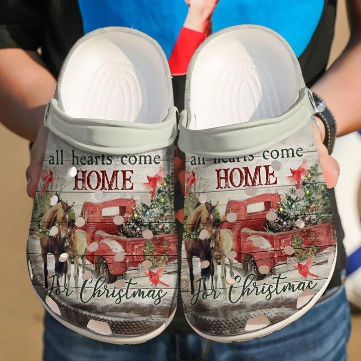 Horse All Hearts Come Home Sku 1423 Crocs Clog Shoes