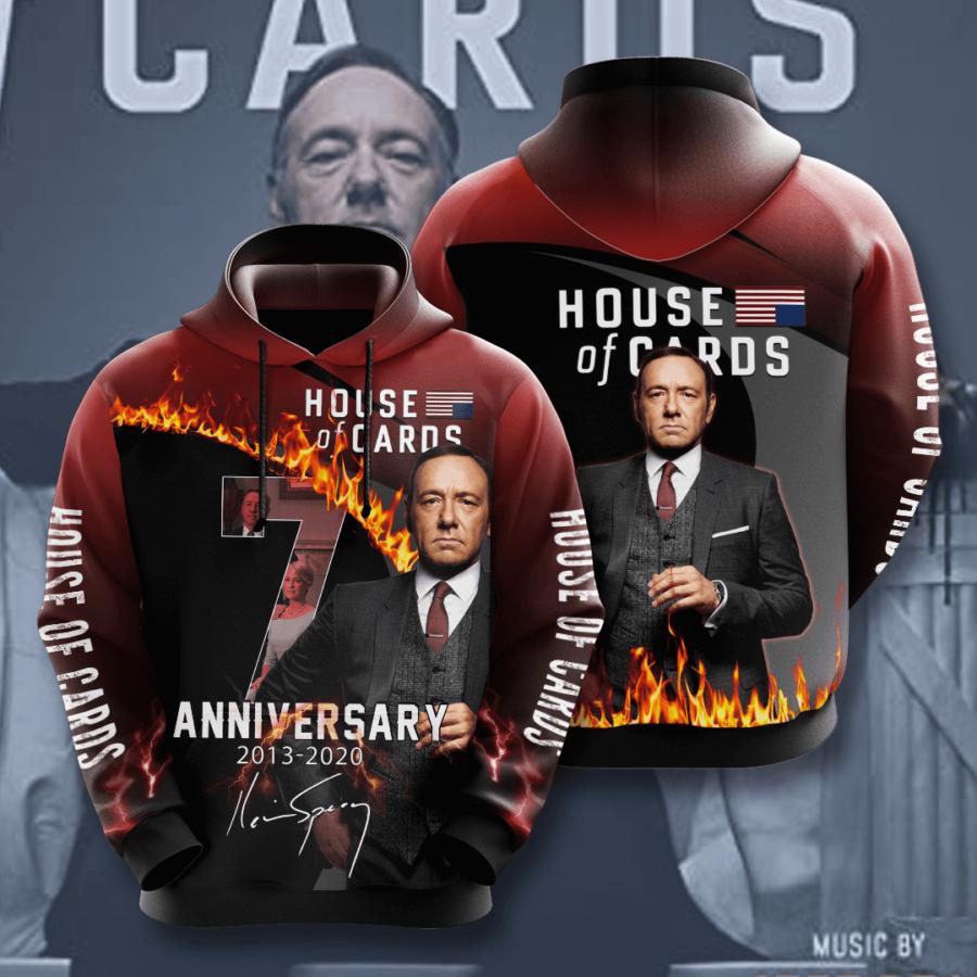 House Of Cards No771 Custom Hoodie 3D
