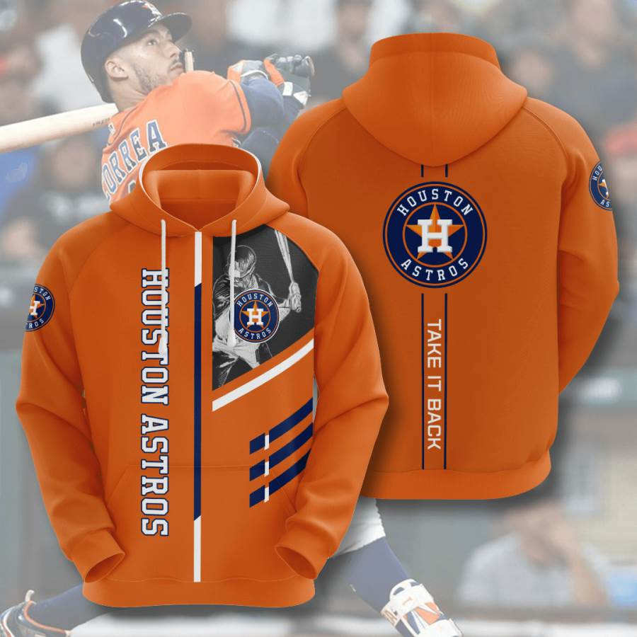 Houston Astros No772 Custom Hoodie 3D