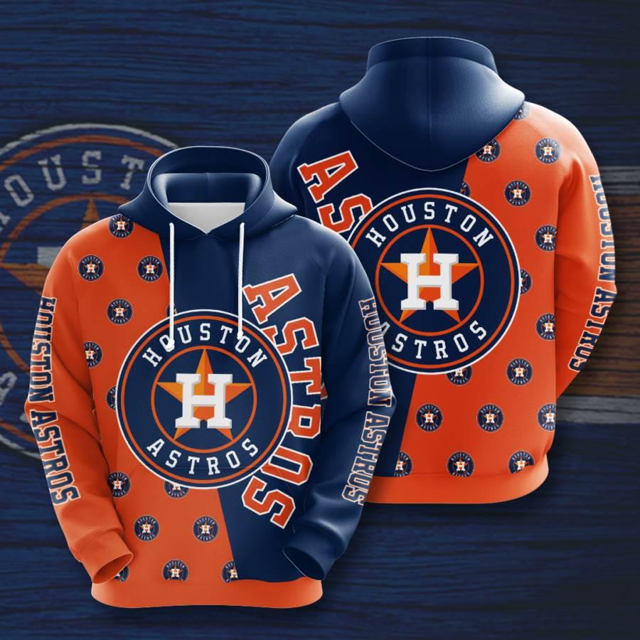 Houston Astros No775 Custom Hoodie 3D