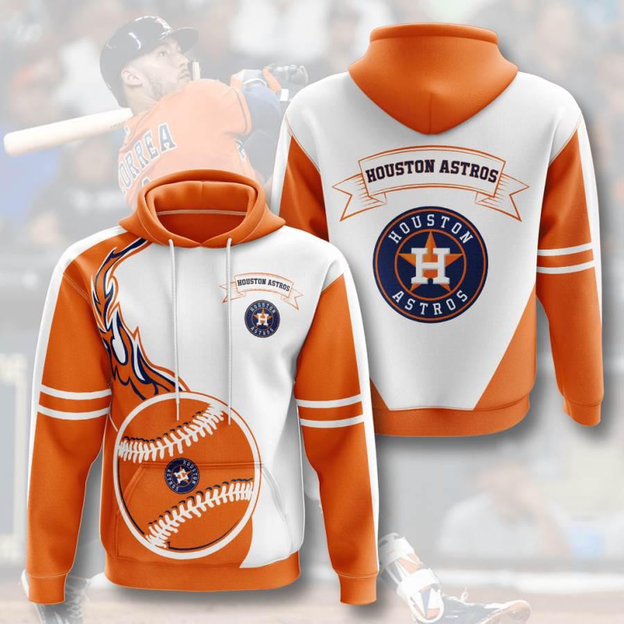 Houston Astros No776 Custom Hoodie 3D