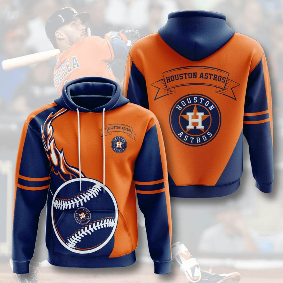 Houston Astros No777 Custom Hoodie 3D