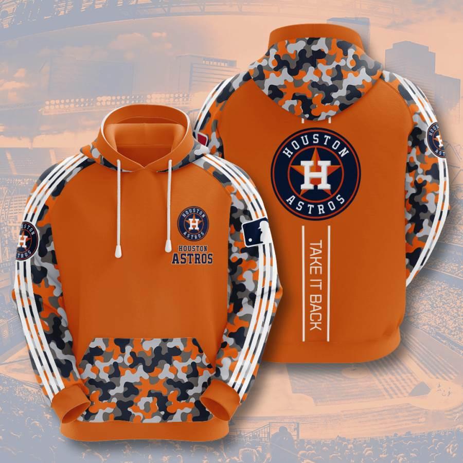 Houston Astros No779 Custom Hoodie 3D