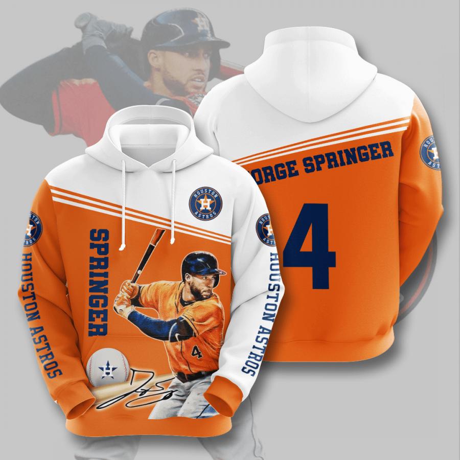 Houston Astros No781 Custom Hoodie 3D