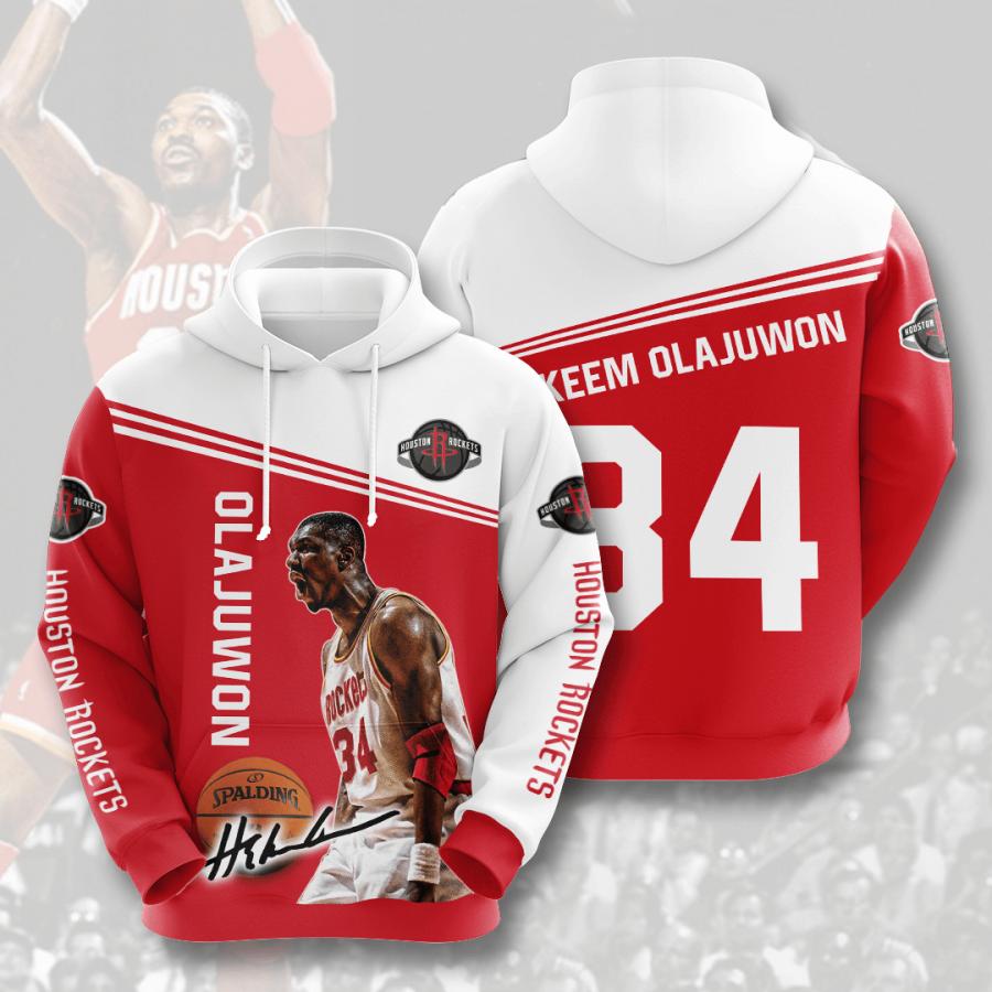 Houston Rockets No787 Custom Hoodie 3D