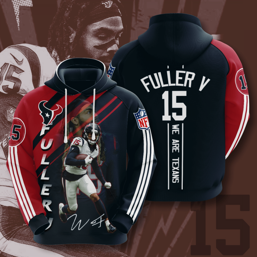 Houston Texans No794 Custom Hoodie 3D
