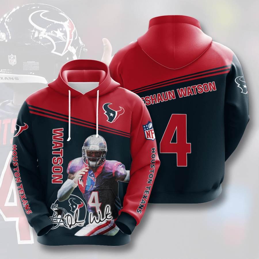 Houston Texans No803 Custom Hoodie 3D
