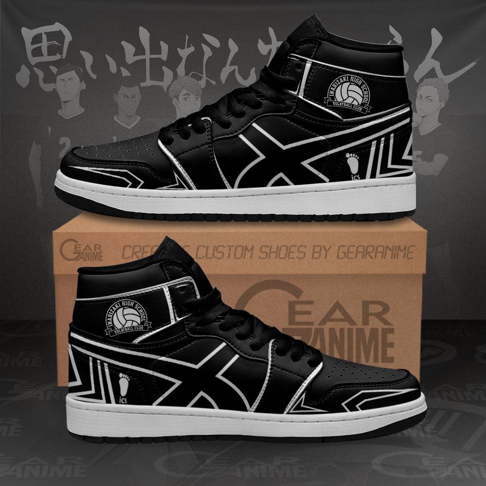 Inarizaki High Sneakers Haikyuu Custom Anime Air Jordan Shoes