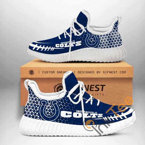 Indianapolis Colts Football Customize Yeezy Boost