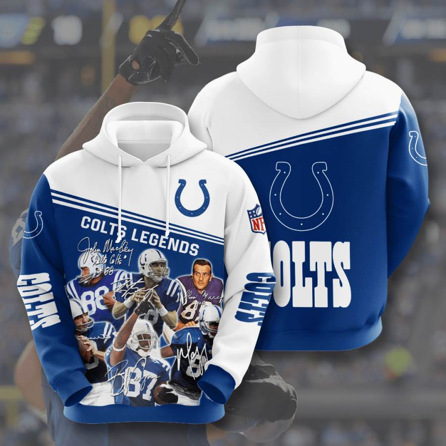 Indianapolis Colts No824 Custom Hoodie 3D
